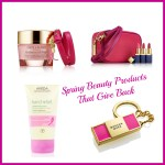 Spring Beauty Products That Give Back