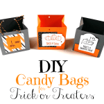 DIY Candy Bags for Trick or Treaters