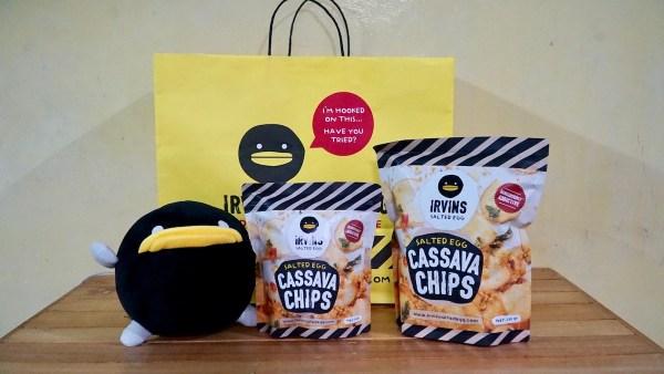 IRV Plushie и новый сорт чипсов маниока