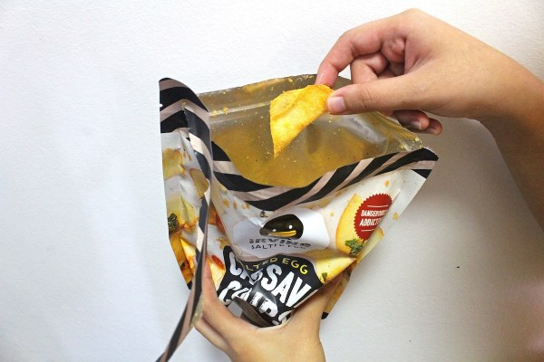 Яичные чипсы из маниоки