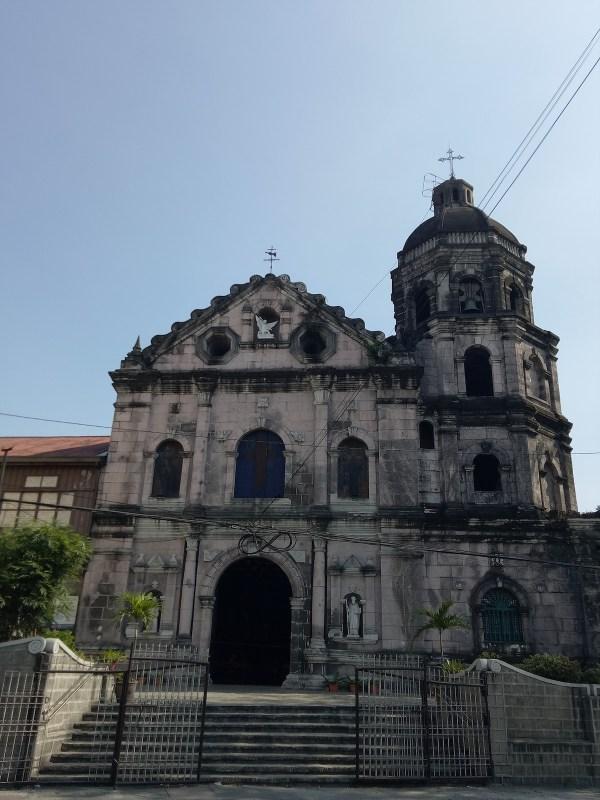 Фотография церкви Санта-Ана Роэля Балингита через Википедию CC Visita Iglesia 2019