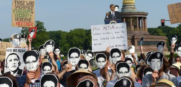 German-protest-Edward-Snowden-Bradley-Manning