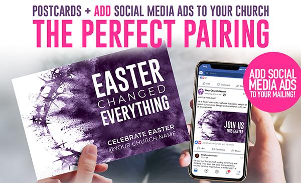 Outreach Everywhere Postcards + Social Media Invitations