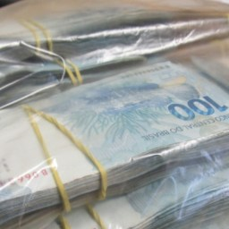 A história do saco de dinheiro do Pê Esse Debê