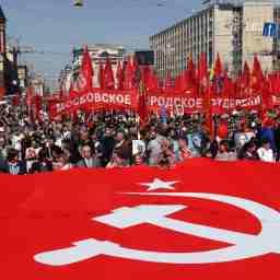 """Imagens espetaculares do """"Dia da Vitória"""" (vitória do socialismo sobre o nazi-fascismo)"""
