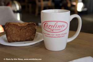 Grass Valley Coffee Shop, Carolines Coffee Roasters