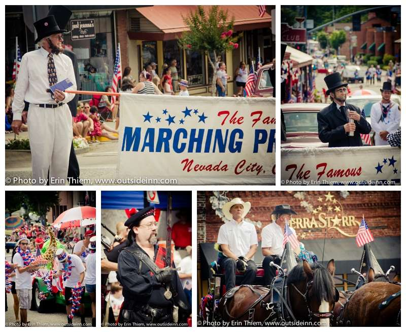 Independence Day Parade, Grass Valley photos