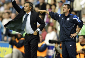 Steve Clarke and Jose Mourinhio