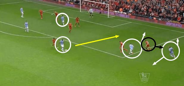 Manchester City first goal
