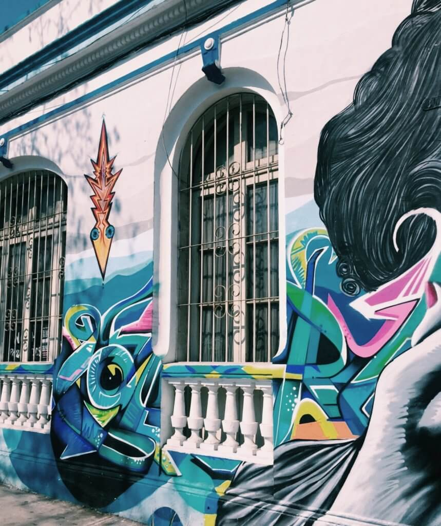 A Brief History Of Santiago S Street Art Scene With Local Graffiti Artist