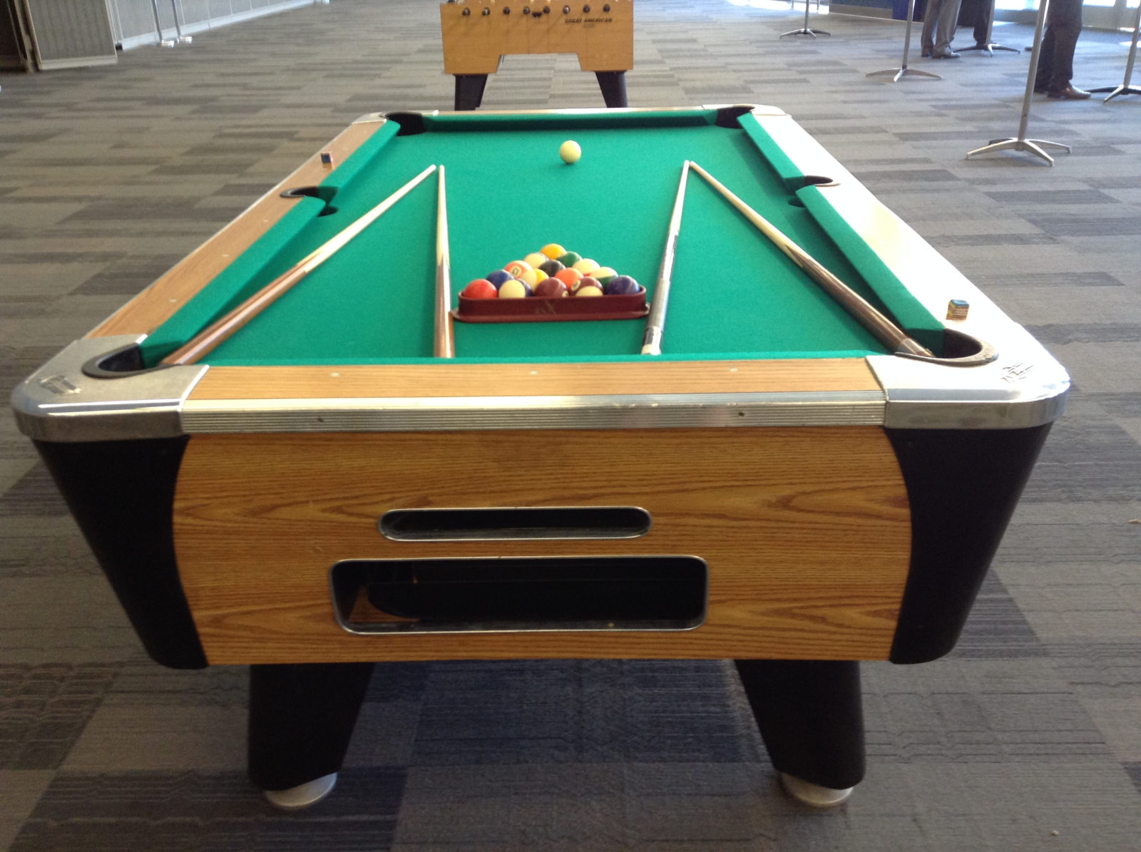 Pool Table Rental Over 21 Party Rentals San Francisco