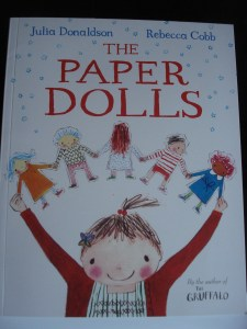The Paper Dolls, Julia Donaldson, Rebecca Cobb