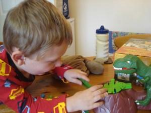Dino Bite game