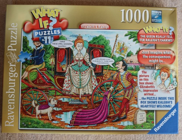 What If? Elizabeth & Raleigh 1000 Piece Puzzle