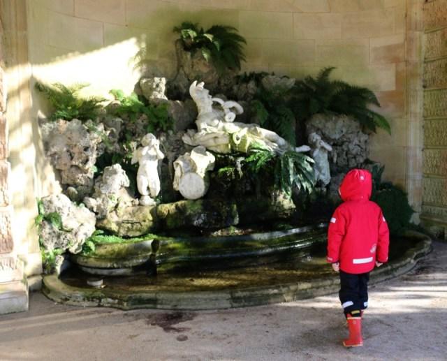 Aviary Fountain at Waddesdon Manor
