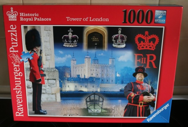 Tower of London 1000 piece jigsaw puzzle