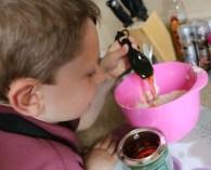 Monkey has fun with BKD Mini Bakers Club
