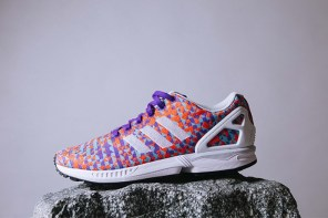 開箱 / 幾何稜柱編織印花 adidas Originals ZX Flux 全新配色