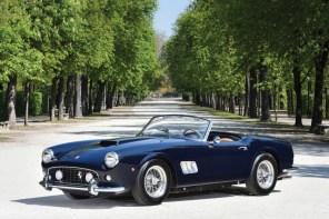 復古跑車 Ferrari 250 GT SWB California Spider 即將拍賣!