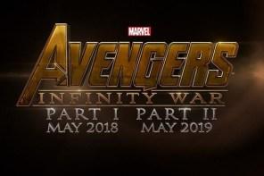 《復仇者聯盟 3:無限之戰》將於 2018 年推出上下兩集!