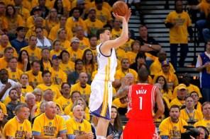 2015 NBA 季後賽西區決賽 G5:勇士隊 104 比 90 拿下第四勝直逼冠軍賽,精彩畫面重播!