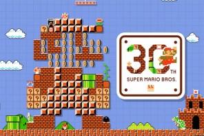 任天堂經典遊戲《超級馬力歐兄弟》30 週年紀念版網站正式上線