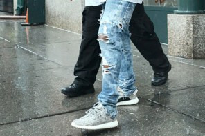 名人穿搭 / Kanye West 實著 Yeezy 350 Boost Low 現身街頭