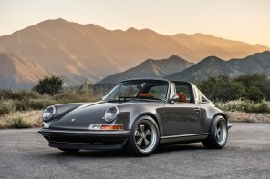 Singer Vehicle Design 重新打造 Porsche 911 Targa 復古跑車登場