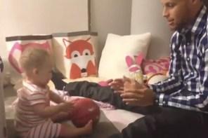 幸福的咖哩一家!2015 上半年 Stephen Curry 家庭短片幸福實錄一覽!