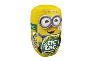 超可愛上市!小小兵造型 Tic Tac 的嗒糖限量釋出!