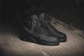 為冬日而生的全黑配色 Nike Air Max 90 Sneakerboot