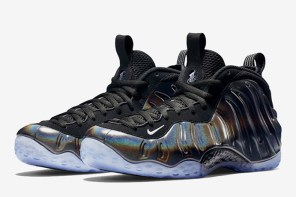 幻彩視覺沖擊,Nike Air Foamposite One「Hologram」全新配色