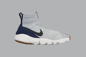 人氣鞋款回歸!Nike Air Footscape Magista 新配色釋出「Wolf Grey」