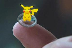 這樣現實虛擬就混在一起了!《Pokémon Go》專用 AR 隱形眼鏡?!