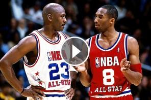 霸氣之戰,重溫 Kobe v.s Jordan 經典對決!