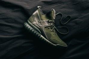 秋冬就該來一雙軍綠色鞋!adidas Originals Tubular X Primeknit 新色釋出!