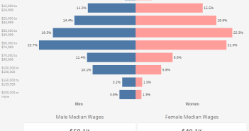 How Much Do Men and Women Earn in Wages no hidpden