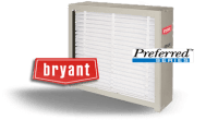 Bryant Preferred Series Filter Cabinet w/ Disposable ...