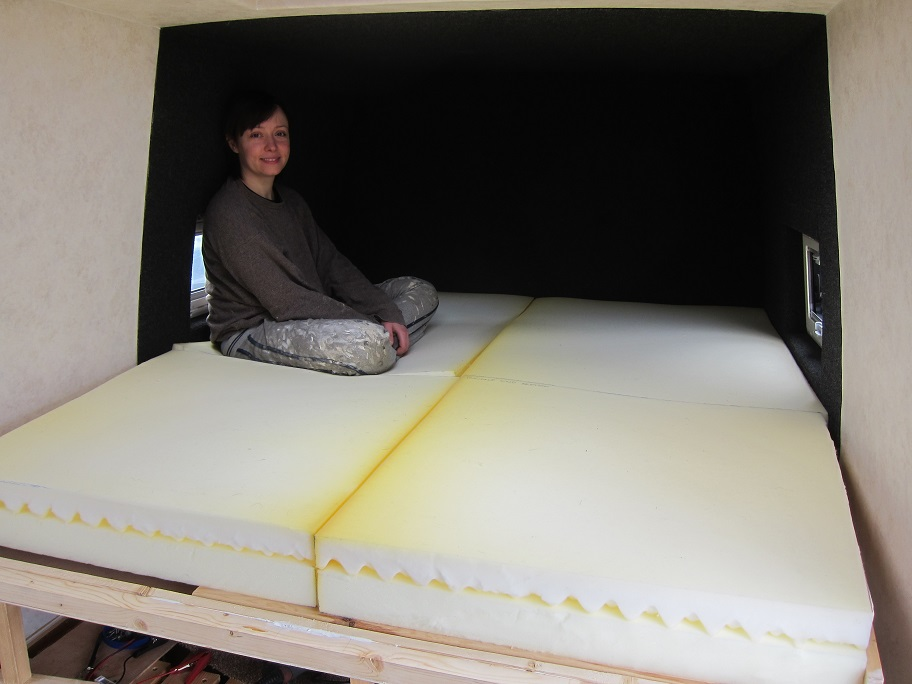Ikea Foam Mattress Foldable Foam Mattresses | Around The World In A Campervan