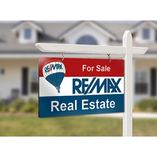 Full Color Real Estate For Sale Signs 24x32 Aluminum Sandwich Board - free for sale signs for cars