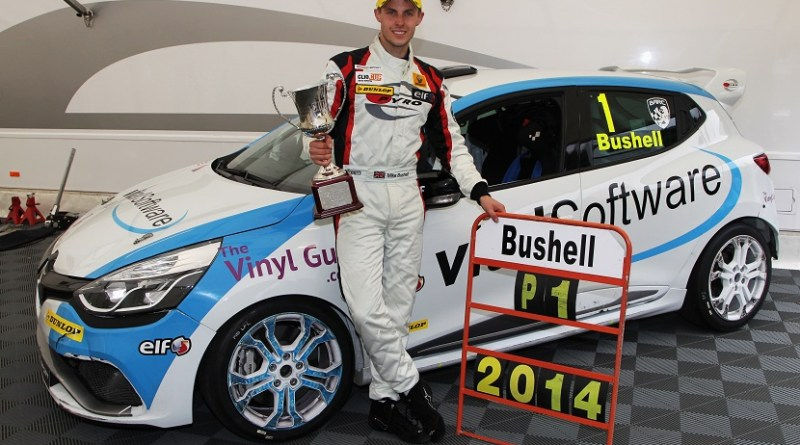 Mike Bushell (GBR) VitalRacing with Team Pyro Renault Clio Cup