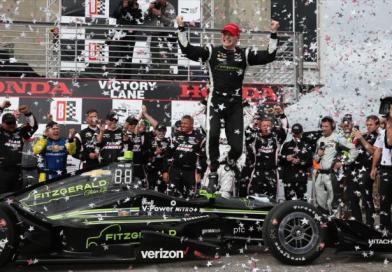 Josef Newgarden gets first win with Team Penske