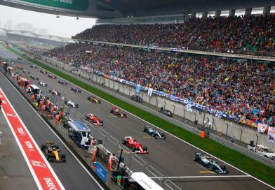 Hamilton on top in Shanghai