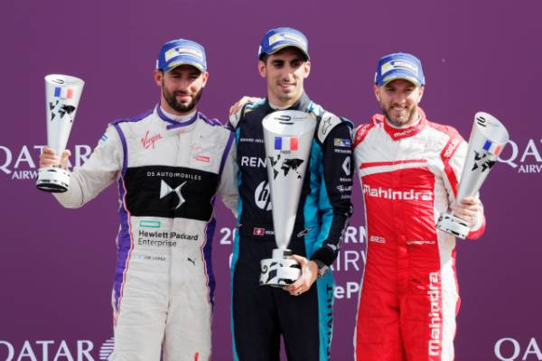 Buemi Takes The Win in Paris