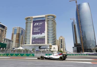 Hamilton Delivers Baku Pole