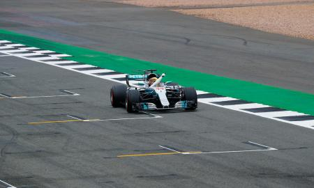 British Mercedes Race