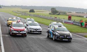 clio cup junior race