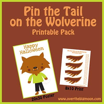 Pin the Tail on the Wolverine - Over The Big Moon