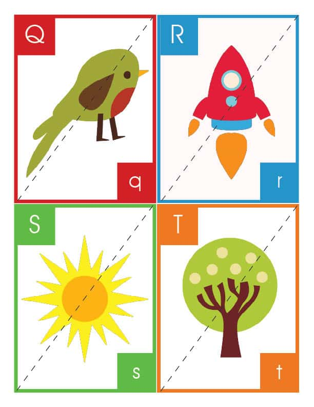 Alphabet Flashcards and Puzzles