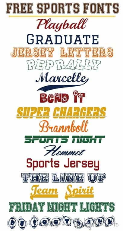 free sports fonts - Towerssconstruction
